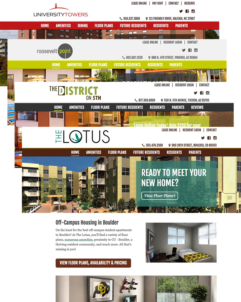 EdR Property Site Designs