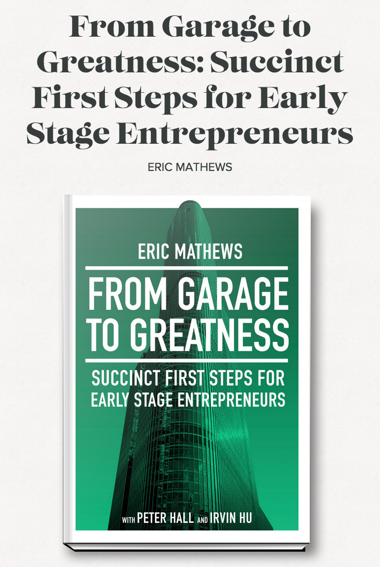 Garage to Greatness Book Cover Art Design on Leafless