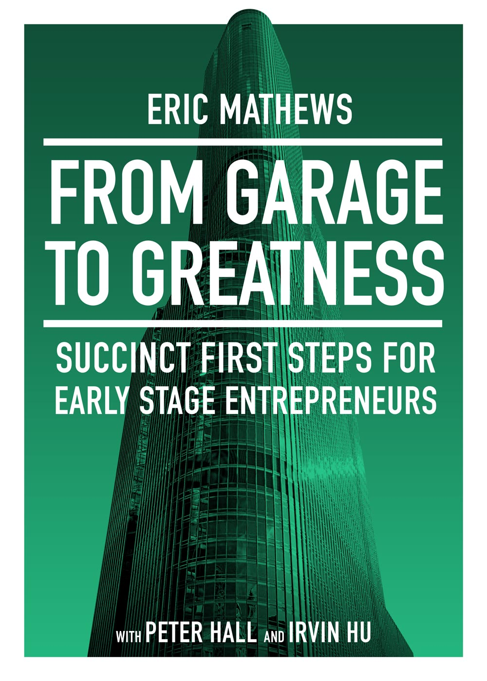Book Design Cover Art Garage to Greatness eBook