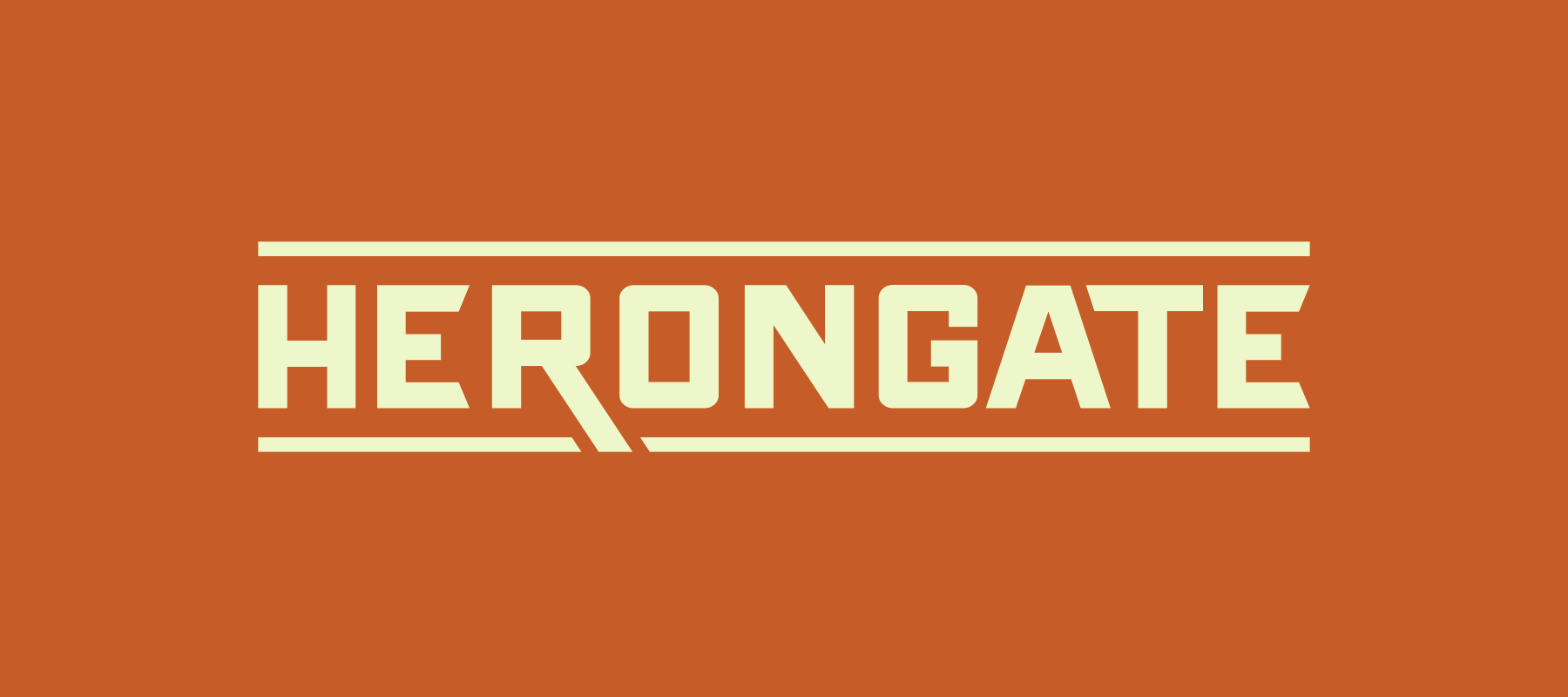 Herongate Logo Design
