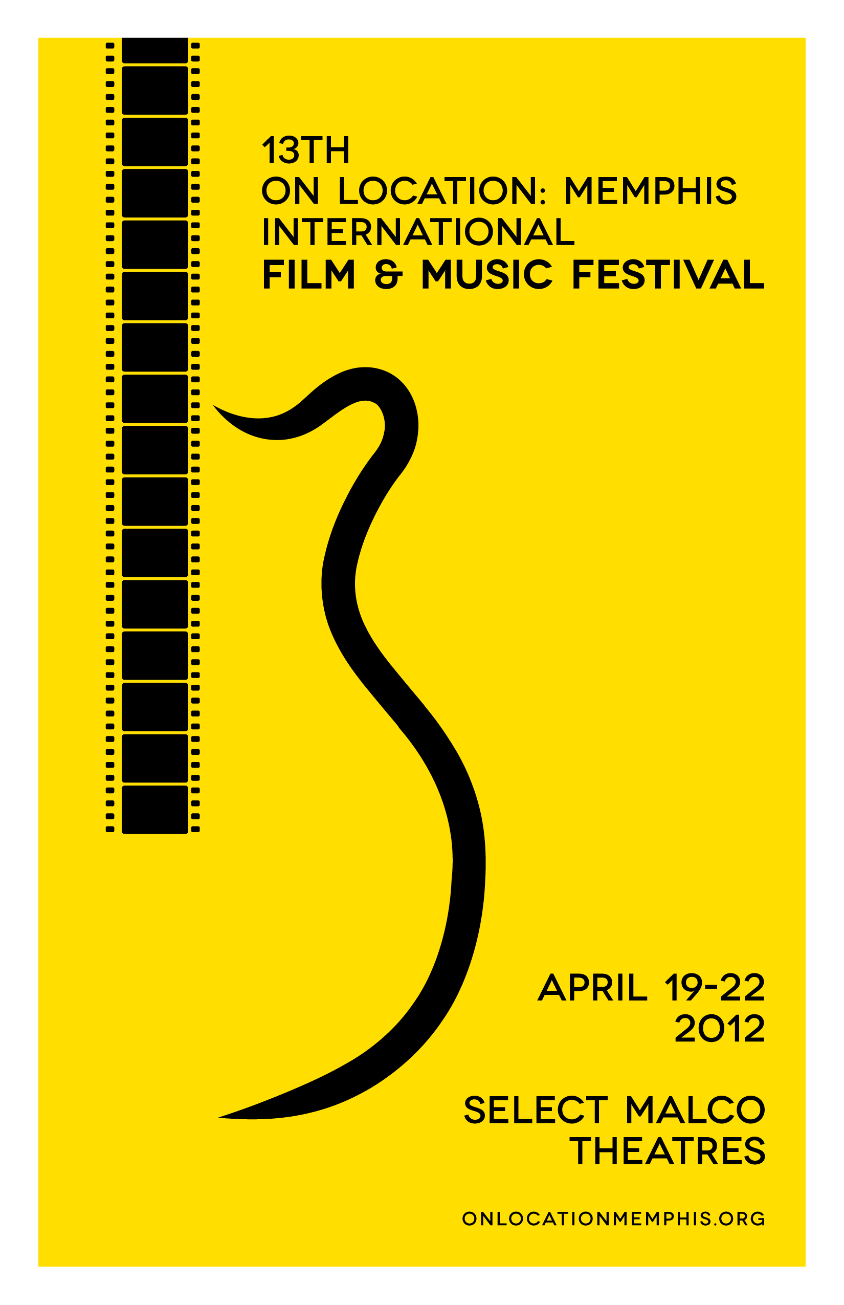 On Location Memphis International Film Music Fest 13 Poster Art