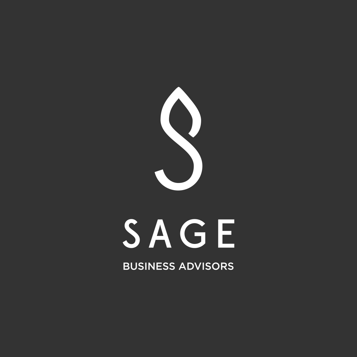 Sage Logo Design Gray